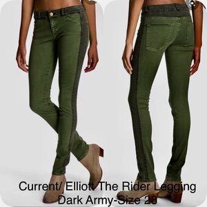 Current/Elliott The Rider Legging Dark Army-28